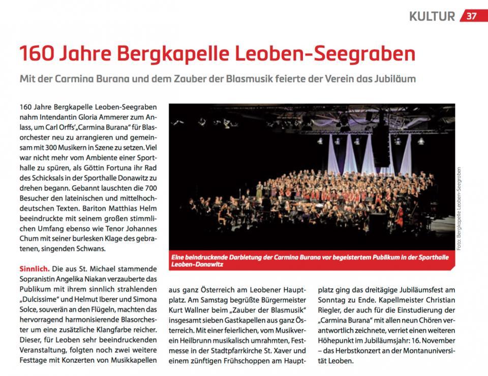 Stadtmagazin Leoben Juli2016
